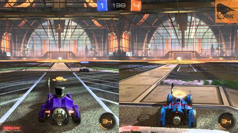 Rocket League Local Coop Splitscreen Online Play Youtube