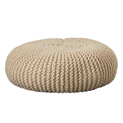 tutoriel pour tricoter un pouf