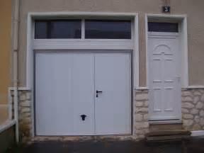 porte de garage avec porte de service obasinc