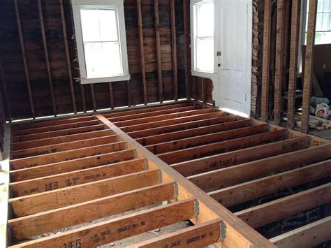 shoreline farmhouse renovation termite damage part iii the entire floor