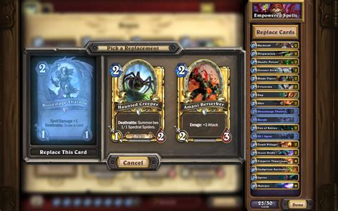 hearthstone on quot anyone can cook deck recipes are coming to hearthstone to help you