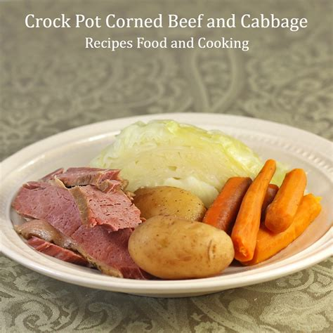 crock pot corned beef and cabbage that s my home