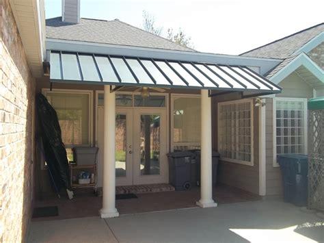 aluminum awnings for patios metal awnings