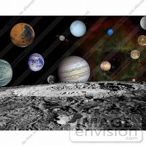 Stock Photo of the Planets of the Solar System With ...