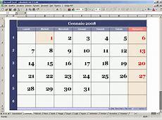 Calendario perpetuo con Excel