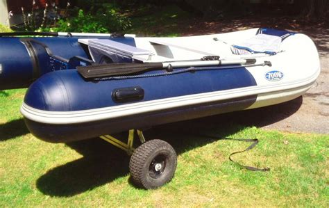 Inflatable Boats Kamloops by Almost New Zodiac Zoom 350 S Inflatable Boat With