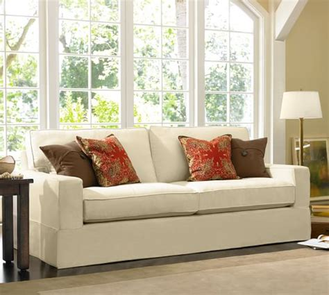 pottery barn comfort grand sofa slipcover sofa