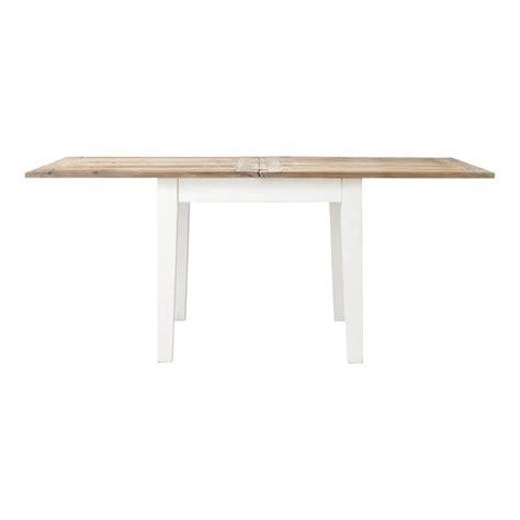 table de salle 224 manger 224 rallonges en bois l 90 cm provence maisons du monde