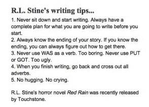a story l helpful tips for every writer j s goldstine author