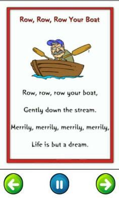 Row Row Row Your Boat Vicky Arlidge by Incy Wincy Spider Education Onderwys Pinterest