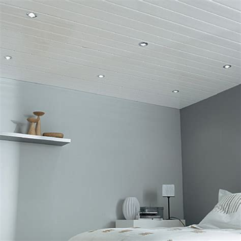 lambris pvc top line plafond 400 x 37 5 cm castorama
