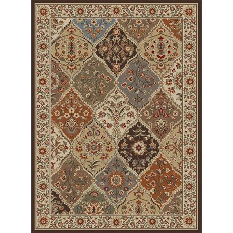 8x10 area rugs home depot tayse rugs elegance multi 7 ft 6 in x 9 ft 10 in