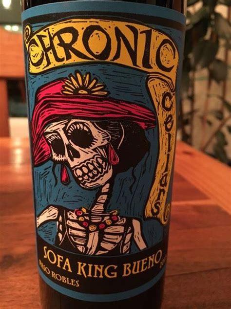 2015 chronic cellars sofa king bueno usa california central coast paso robles cellartracker