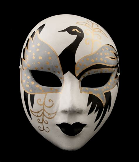 masque opera chinois femme et l oiseau