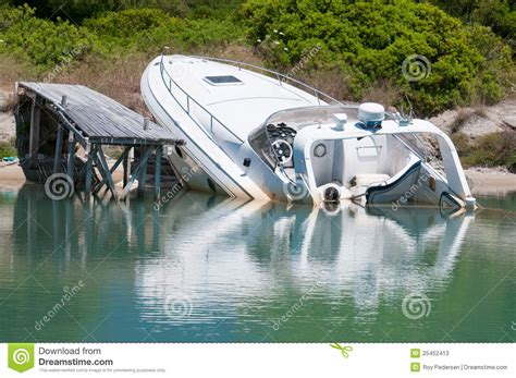 Dream Of Your Boat Sinking by Sinking Boat Stock Photos Image 25452413