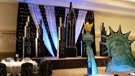 new york prom theme decorations studio design gallery best design