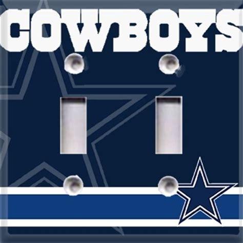 dallas cowboys football light switch plate cover room decor cave ebay