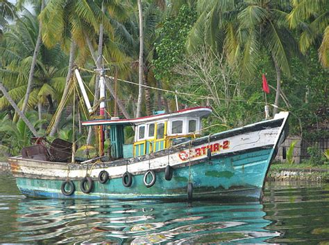 Fishing Boat Art by Kerala Boat Photograph By Art Nomad Sandra Hansen