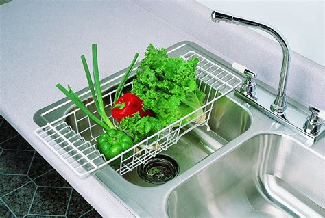 Over The Sink Dish Drainer Rack Webnuggetzcom