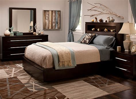 Wall Street 4-pc. King Platform Bedroom Set W/ Storage Bed Lateral File Cabinets For The Home Tuscan Exterior Colors Apartment Living Room Design Ideas Depot Light Homes Designs Modern Bedroom Double Doors Knobs Kitchen