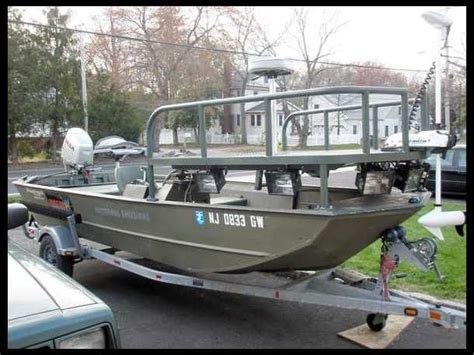 17 best images about bow fishing boat on boat plans foot pads and high deck