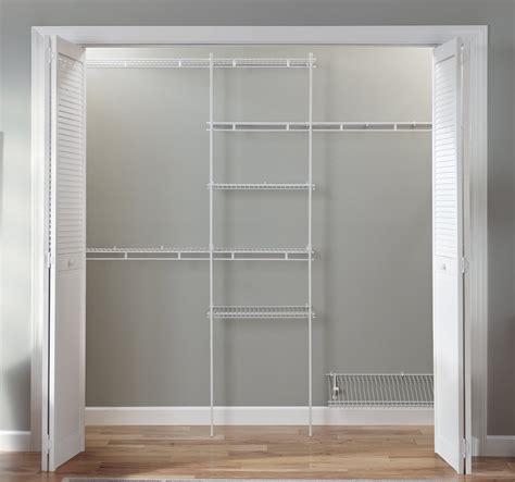 Closet Organizer Kitwhite Color5 Feet To 8 Feetclosetmaid