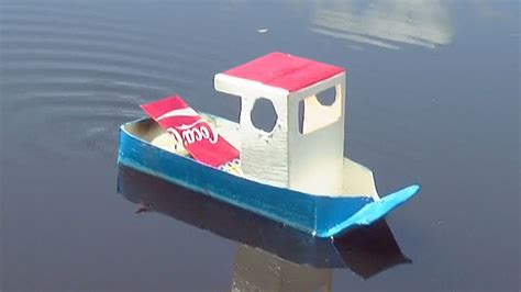 How To Make A Homemade Putt Putt Boat by How To Make A Simple Pop Pop Boat Youtube
