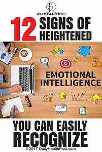 Daily Health Post: 12 Signs of Heightened Emotional ...