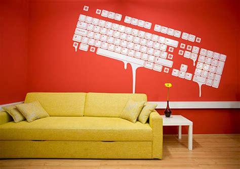 quot dos winter recognition 2009 quot un sticker mural pour les en forme de clavier qui d 233 gouline