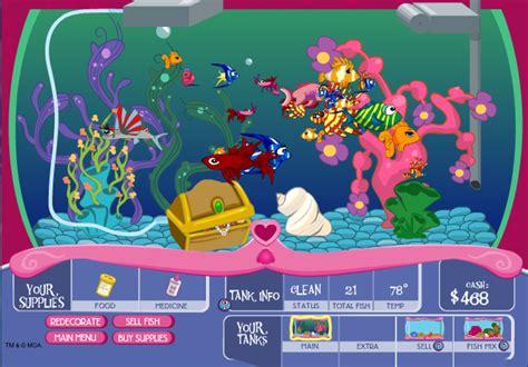 bienvenue dans notre aquarium un jeu gratuit reproduisez des poissons de differentes