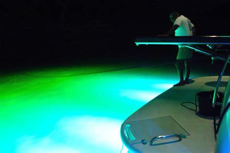 Led Boat Night Lights by Marine Interior Underwater Led Lighting Installation In