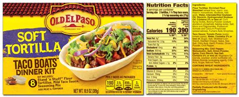 Old Boat Brands by Old El Paso Product List