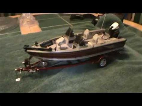 Toy Bass Boat by 1 24 Scale Lund Boat Youtube