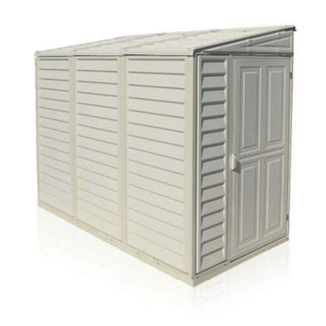 4x8 plastic storage shed sidemate 4x8 vinyl shed 1220mm x 2420mm x 1855mm with