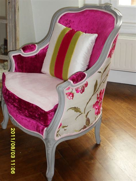 meridienne et berg 232 re louis xv de mme m tendance chic tapissier cr 233 ateur