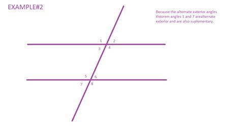 alternate interior angles theorem mrwadeturner consecutive and alternate exterior angles