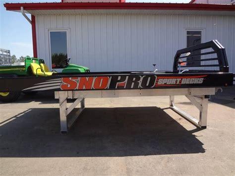 2012 sno pro sport deck kramer trailer sales