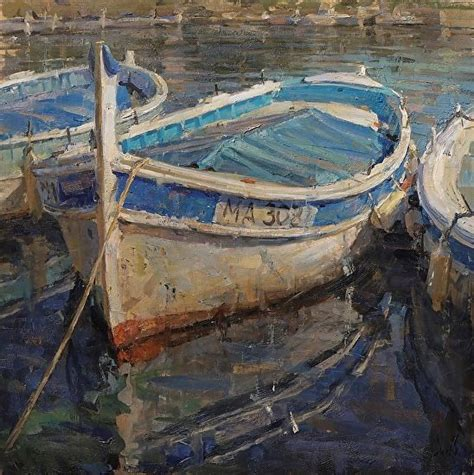 Boat Paintings By Famous Artists by Best 25 Boat Painting Ideas On Pinterest Landscape