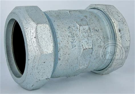 dresser couplings for galvanized pipe galvanized compression fittings aka dresser fittings