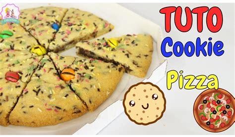 recette pizza cookie facile et rapide