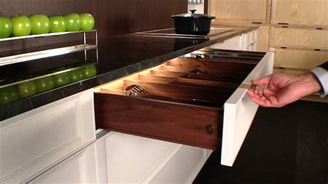 rutt handcrafted cabinetry led interior kitchen drawer lighting