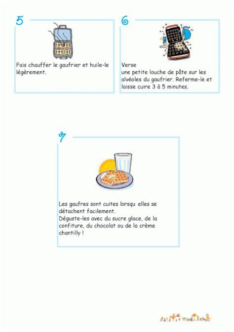imprimer la recette de la p 226 te gaufres illustr 233 e suite chanson enfant t 234 te 224 modeler