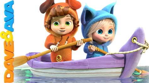 Row Your Boat Dave And Ava row row row your boat nursery rhymes and baby songs from