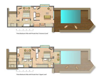 plan maison avec piscine int 233 rieure