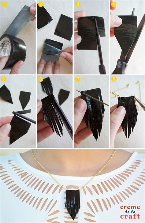 Diy 3 Duct Tape Necklaces + Video Tutorial