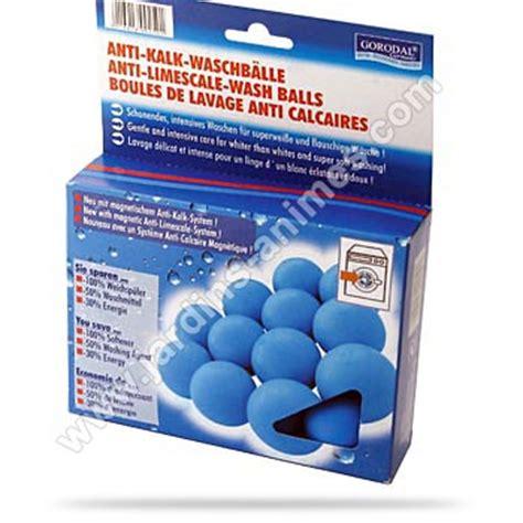 boules de lavage anti calcaire lave linge x6 produit entretien bio