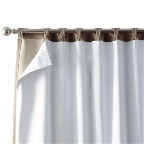 solaris white blackout liner 1627828 the home depot