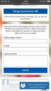Dm Gutschein Online : 150 euro dm gutschein via whatsapp nachricht echt oder fake ~ Markanthonyermac.com Haus und Dekorationen