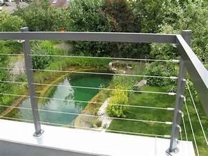 Geländer Mit Seil : brix seilinox seilsystem f r abtrennungen brix gel nder balkone aus aluminium ~ Markanthonyermac.com Haus und Dekorationen