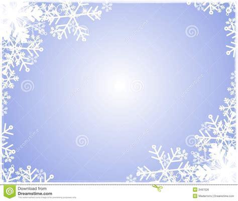 cadre de silhouette de flocon de neige image libre de droits image 3497026